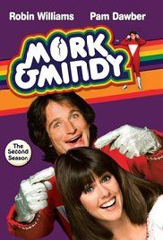 Mork & Mindy Poster 1978-1982. Robin Williams played on 94 episodes as Mork/Himself.