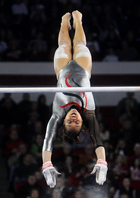 LSU Georgia Gymnastics by Kelly M. Lambert, via Flickr