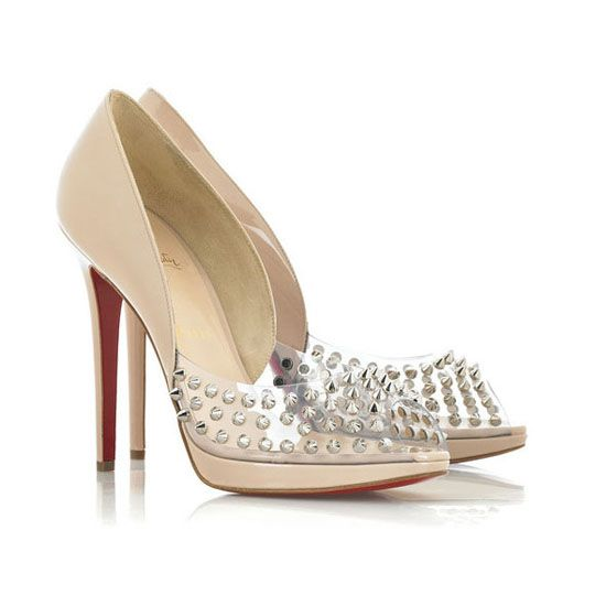 Christian Louboutin Engin 120mm Pink Peeptoe