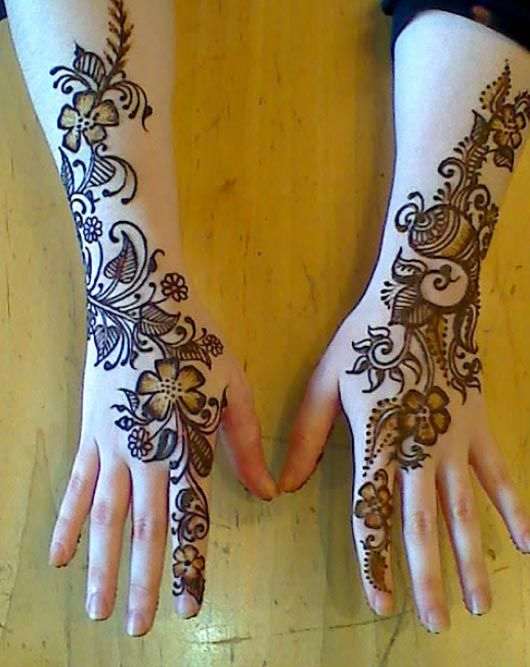HD Mehndi Designs 2014: Henna Design Stencils For Hand Feet Arabic Beginners Kids Men Photos Images Picture Pics