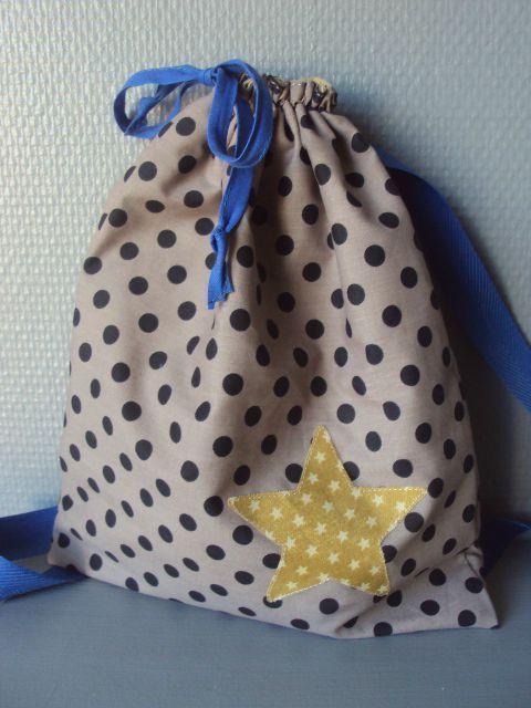 Sac à gouter et son Tuto par Little Fabrics