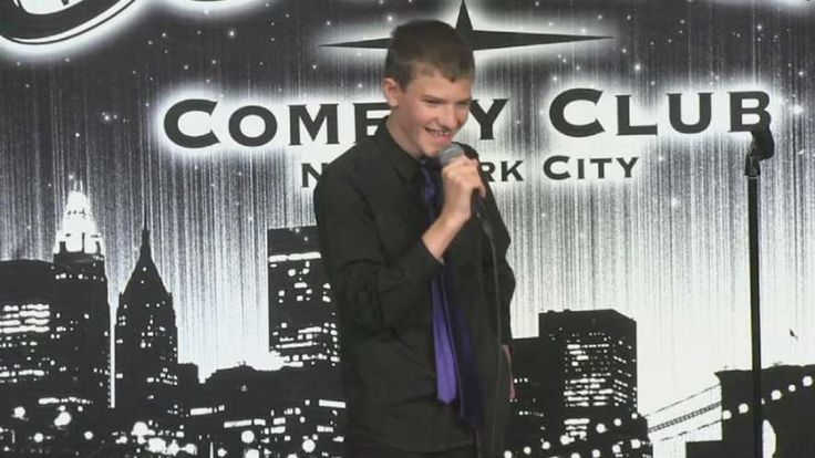 Leo performs live at Gotham Comedy Club in New York City.