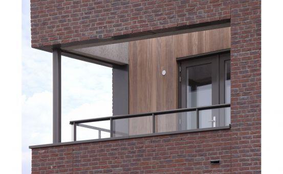 Roval Aluminium   Specialist in aluminium bouwproducten voor dak & gevel.  Roval-Baluster® met glas