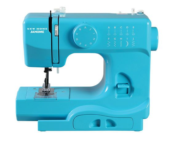 Janome Derby Portable Sewing Machine- Turbo Teal