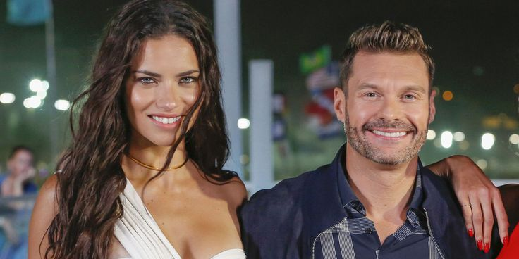 Adriana Lima and Ryan Seacrest are Reportedly Dating