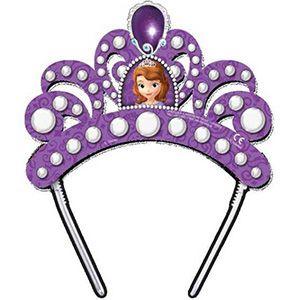 Prenses Sofia Karton Taç, doğum günü parti süsleri