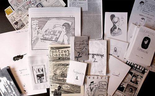 Botín de cómics y fanzines 2013 #3, versión Anti Viñetas y Antipaneli 1a fiesta de freeform cómics: