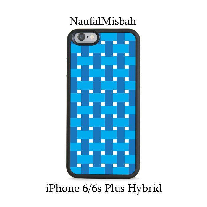 Blue Box Waven iPhone 6/6s PLUS HYBRID Case