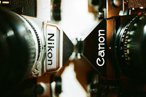 Nikon FE VS CANON A1