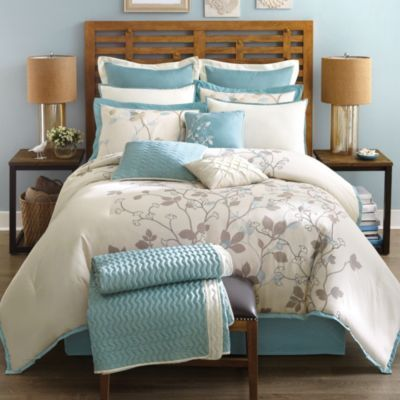 madison park callista 12 piece comforter set sears sears canada - Sears Bedroom Decor