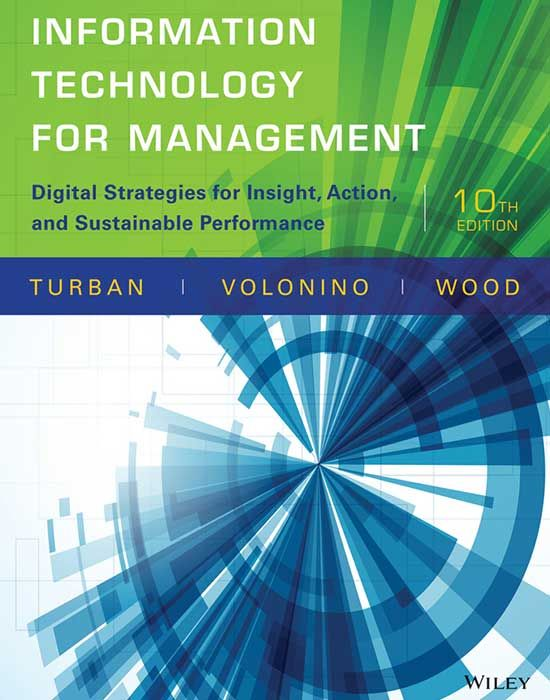 9 best information systems images on pinterest authors textbook information technology for managementdigital strategies for insight action and sustainable performance edition by efraim turban author fandeluxe Gallery