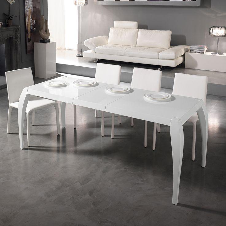 78 best aggiungi un posto a tavola images on pinterest base coffee tables and console - Tavola da pranzo allungabile ...