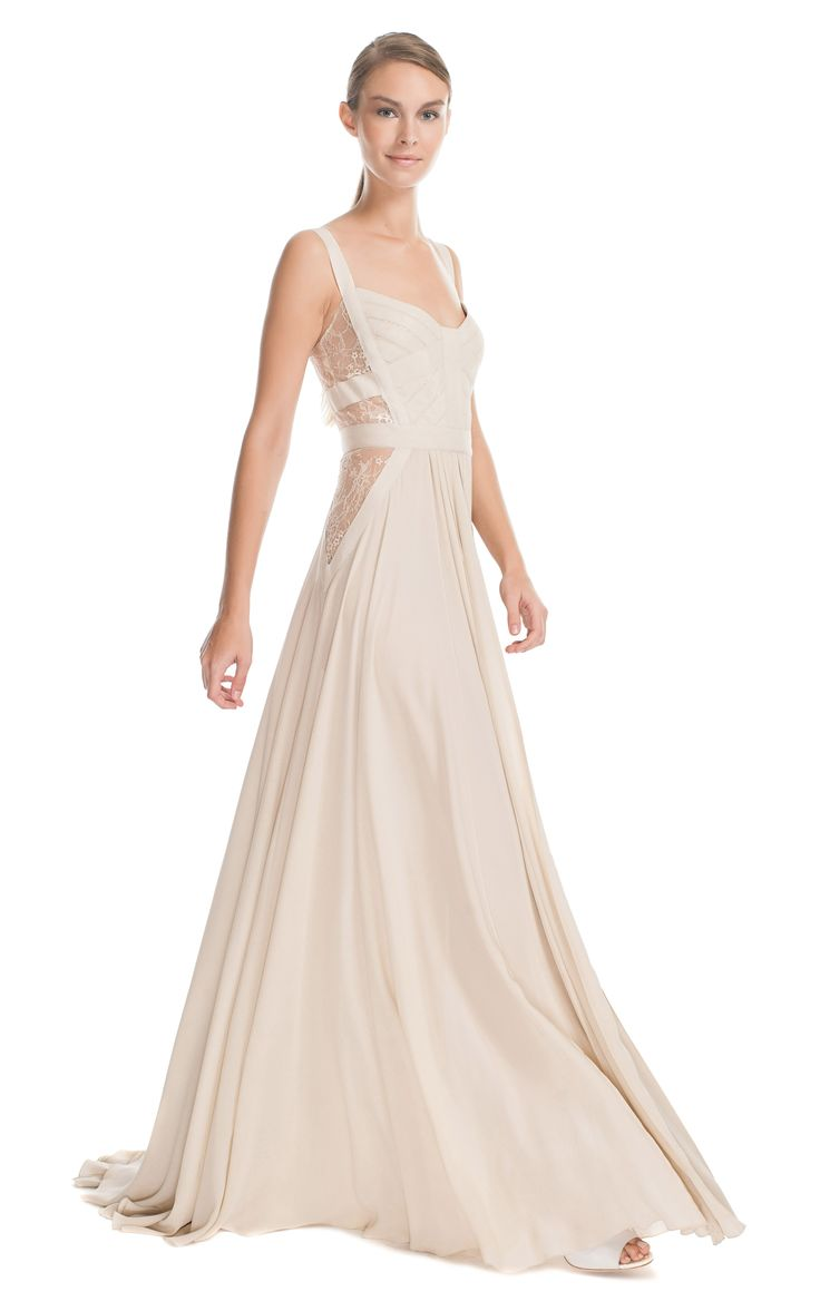 66 best images about il mio abito da sposa ideale on for Silk georgette wedding dress