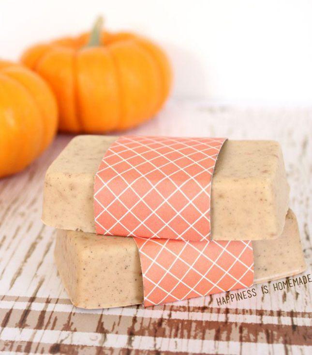Make Pumpkin Spice Soap in just ten minutes.