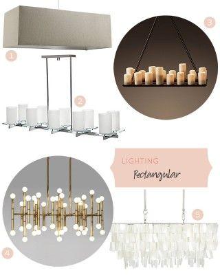 Rectangular Lighting Fixtures