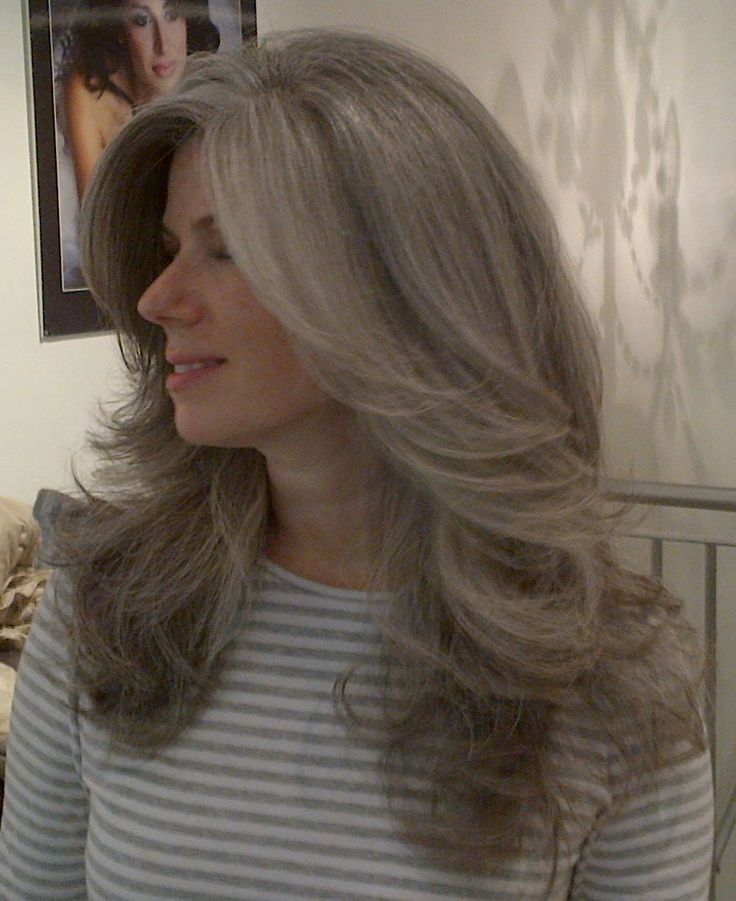 gray hair styles photos hairstyles while growing out grey hair hair 4393