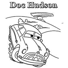 coloring pages cars movie characters - photo#37