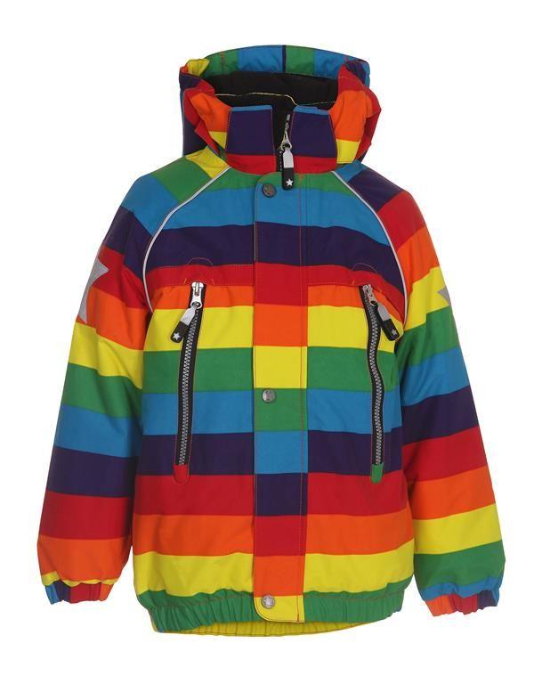 www.aatio.fi, Aati O, lastenvaatteet, Molo Kids, Castor jacket Rainbow