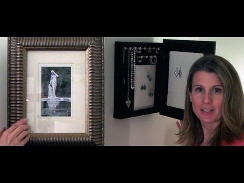 Jewelry Holder Hidden by picture