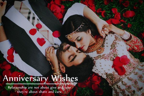 Happy Anniversary Wishes: for Wife Husband Friends Parents