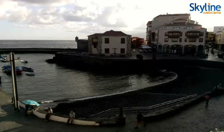 20 best images about skyline webcams on pinterest - Puerto de la cruz webcam ...