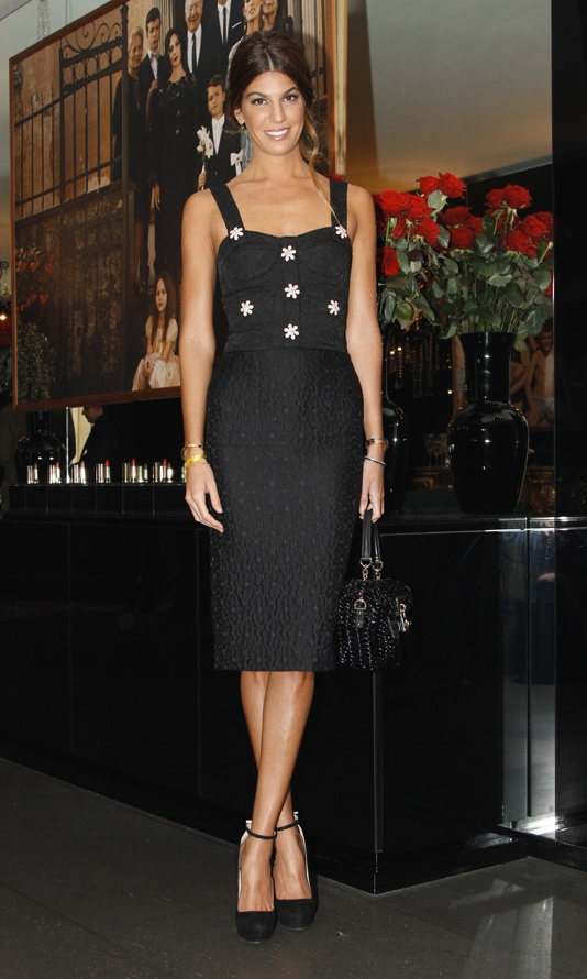 Bianca Brandolini D'Adda at DOLCE & GABBANA Fall Winter ...