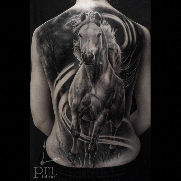 475 best animals tattoo images on pinterest for Wild horse tattoo