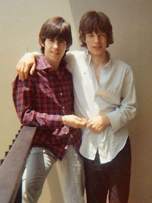 Ketih Richards, Mick Jagger