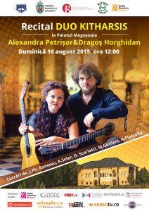 Duo Kitharsis – recital și lansare de CD la Palatul Mogoșoaia | Revista Muzicală Radio