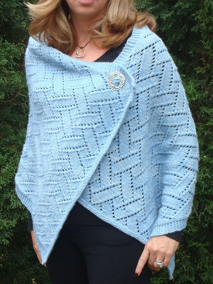 Free Knitting Pattern for Princess Lace Wrap - This lace rectangular wrap is designed by Betsy Perry. 12″ x 60″. Pictured projectby Knittygolfgir