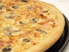 Pizza carbonara - MisThermorecetas                                                                                                                                                                                 Más