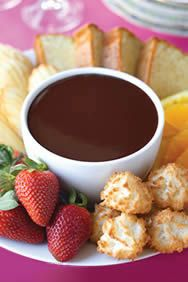 Chocolate fondue recipes easy
