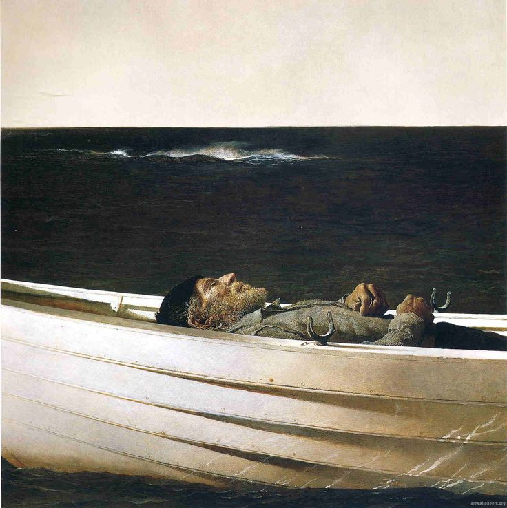 Andrew Wyeth ~ wow, this painting would be a great topic in discussion