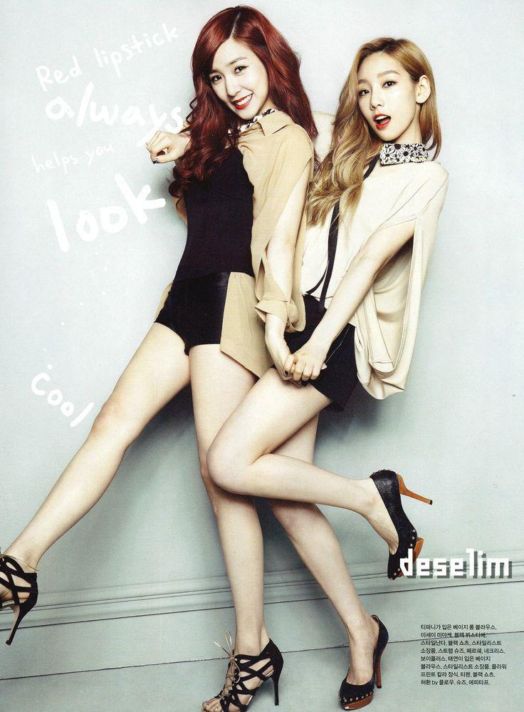 #snsd #tiffany #taeyeon