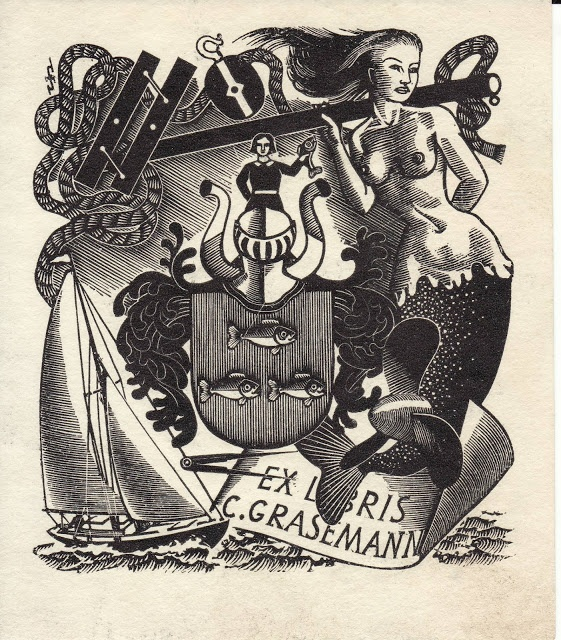 Ex Libris C. Grasemann