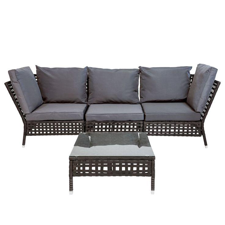 Home24 Loungegruppe Kylo Ii 4 Teilig Moebel Suchmaschine Ladendirekt De Outdoor Lounge Mobel Loungegruppe Aussenmobel