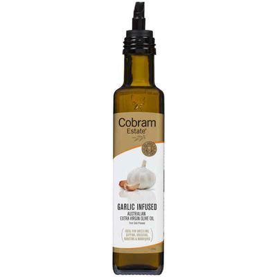 Garlic Oil by Cobram - This guy definitely fills the void of not eating garlic just don't use too much. Used best for roasting veggies especially pumpkin. But please don't try making your own with fresh garlic as there is high risks of botulism which is a fatal food poising.