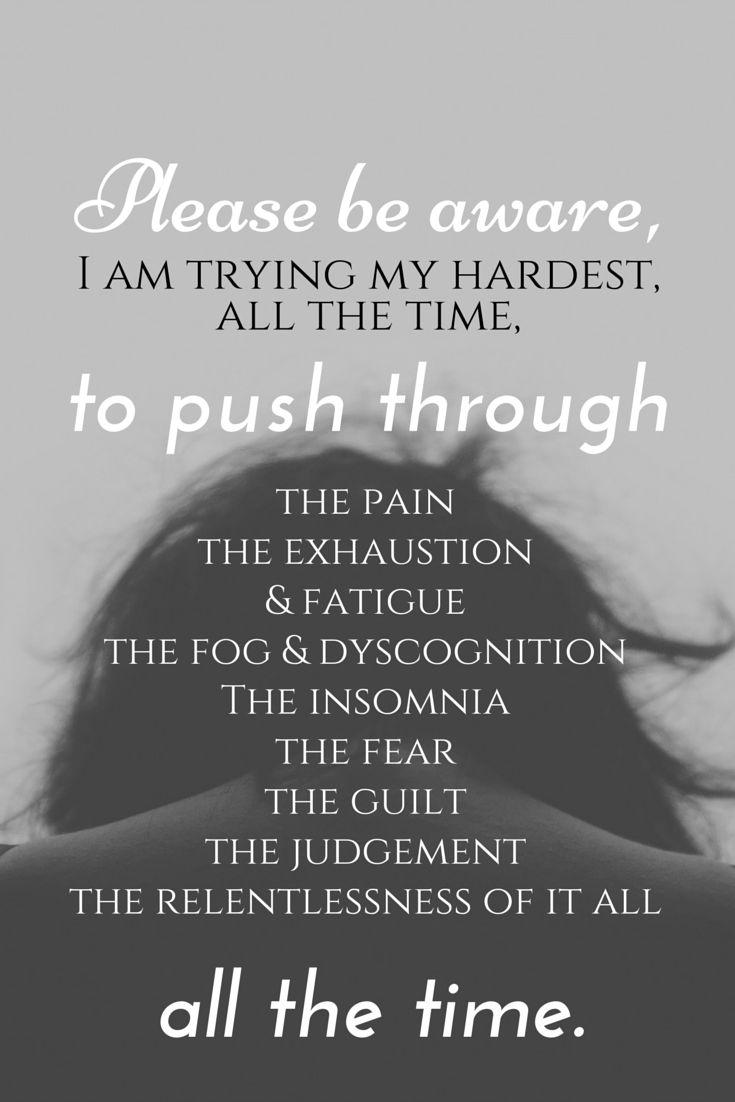 always pushing...
