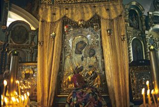On July 6 1480, a highly venerated icon of the Other of God was brought from the ancient city of Vladimir to Moscow. Grand Prince Iva...