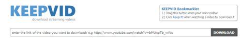 Pour enregistrer une video de Youtube sur l'ordinateur