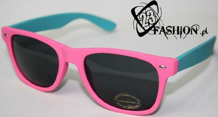 Okulary Przeciwsłoneczne Primark Wayfarer RÓŻOWE