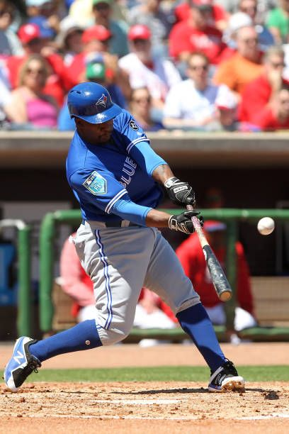 4117 best baseball images on pinterest athletes alternative and gift ngoepe of the blue jays puts the ball in play during the spring training game negle Image collections