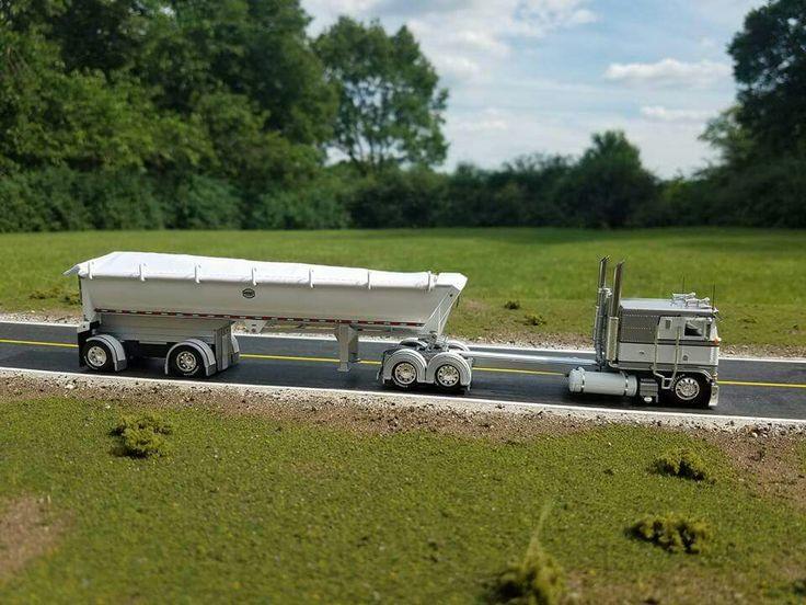 20 best 1 64 semis images on pinterest farm toys toy - Bac a semis ...