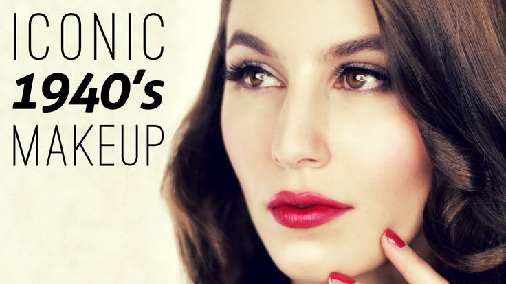 Iconic 1940's Makeup Tutorial Historically Accurate Makeup Tutorial