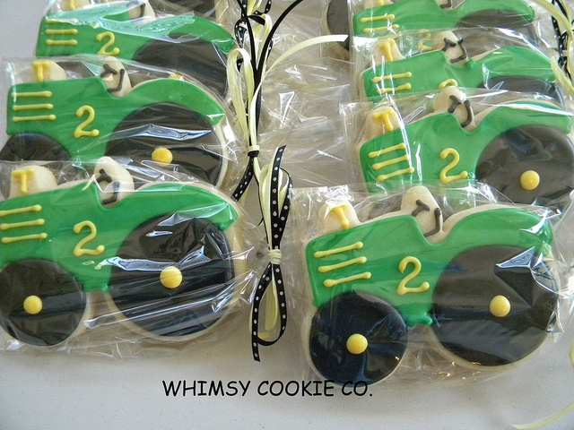 Tractor cookies adorable