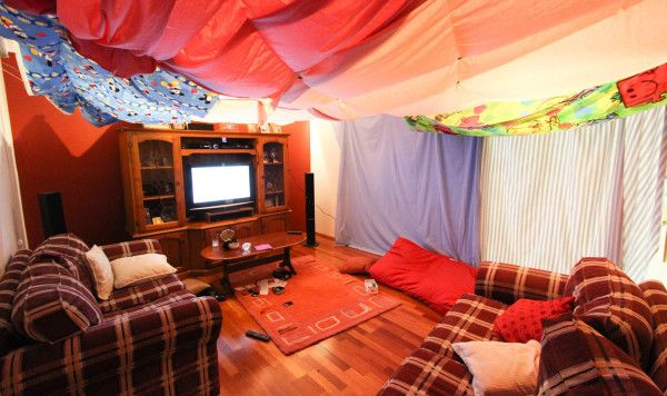Build a fun fort out of almost anything with these tutorials
