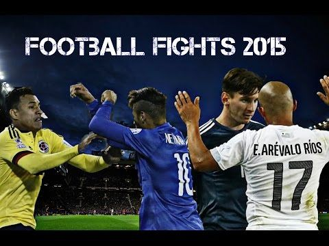 Football Fights Between Players 2015 Part 2 • Football Angry Moments 720p HD - YouTube