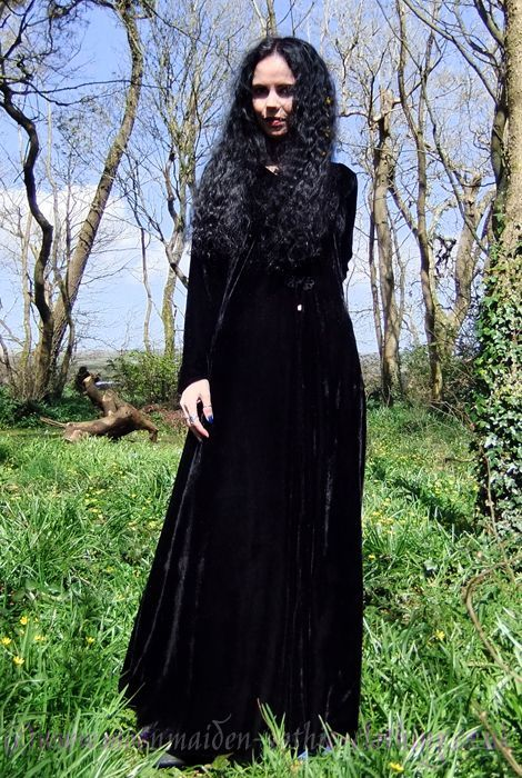 Moonshadow Coat by Moonmaiden Gothic Clothing UK £62
