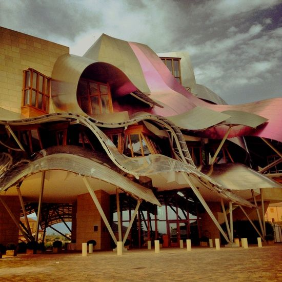Hotel Marqués de Riscal by Frank Gehry