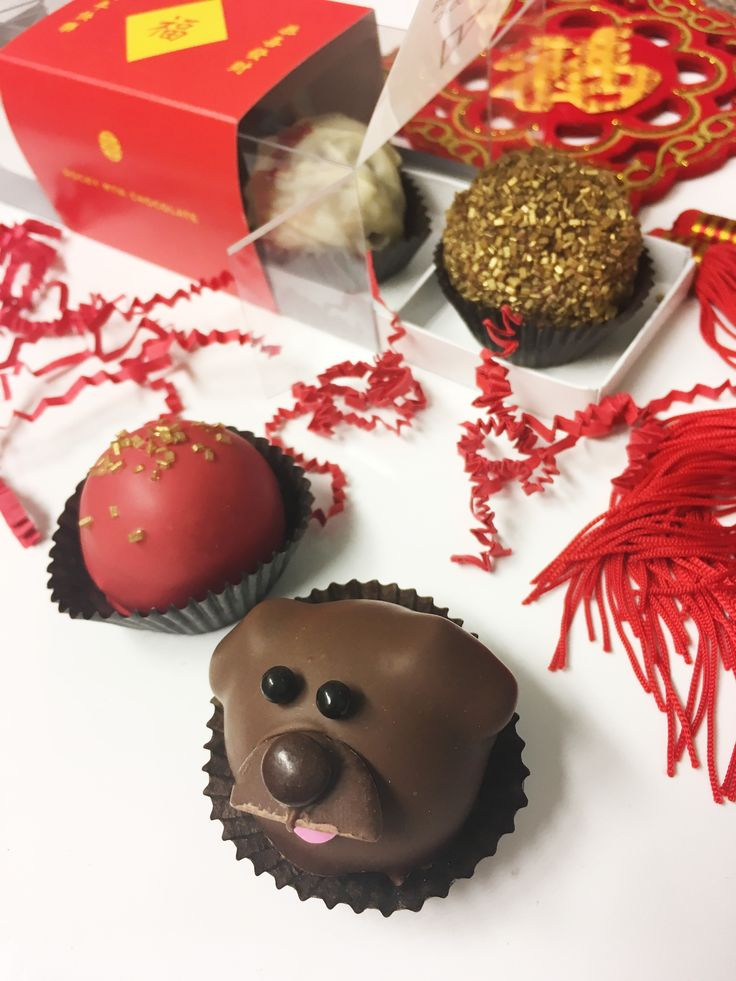 A celebration always should include something sweet. Send plenty of good wishes and luck to loved ones this Lunar New Year with our Year of the Dog inspired chocolate Bombs!